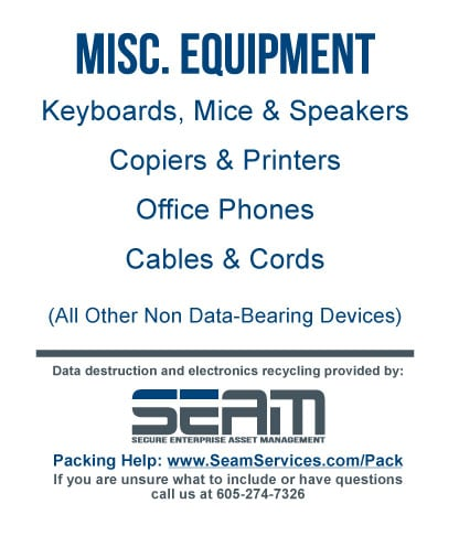 Misc Equipment sign